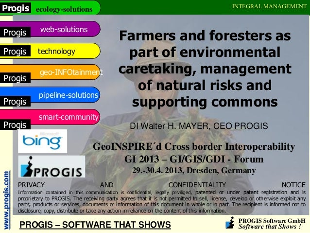 PROGIS Software GmbHSoftware that Shows !www.progis.com ecology-solutionsProgisweb-solutionsProgistechnologyProgisgeo-INFO...