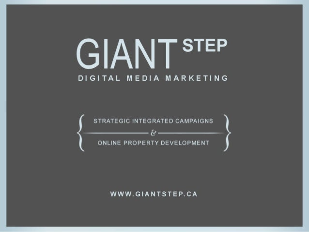 About Giant Step [ giantstep.ca ] • Digital Marketing Agency in Toronto, Canada • Producing marketing campaigns + online p...