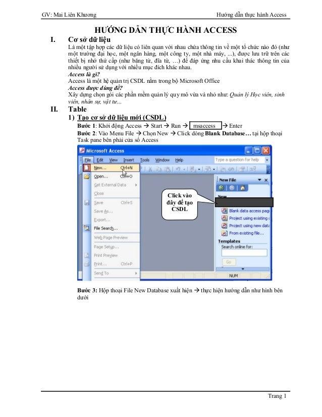 Giao trinh-access 2003 full