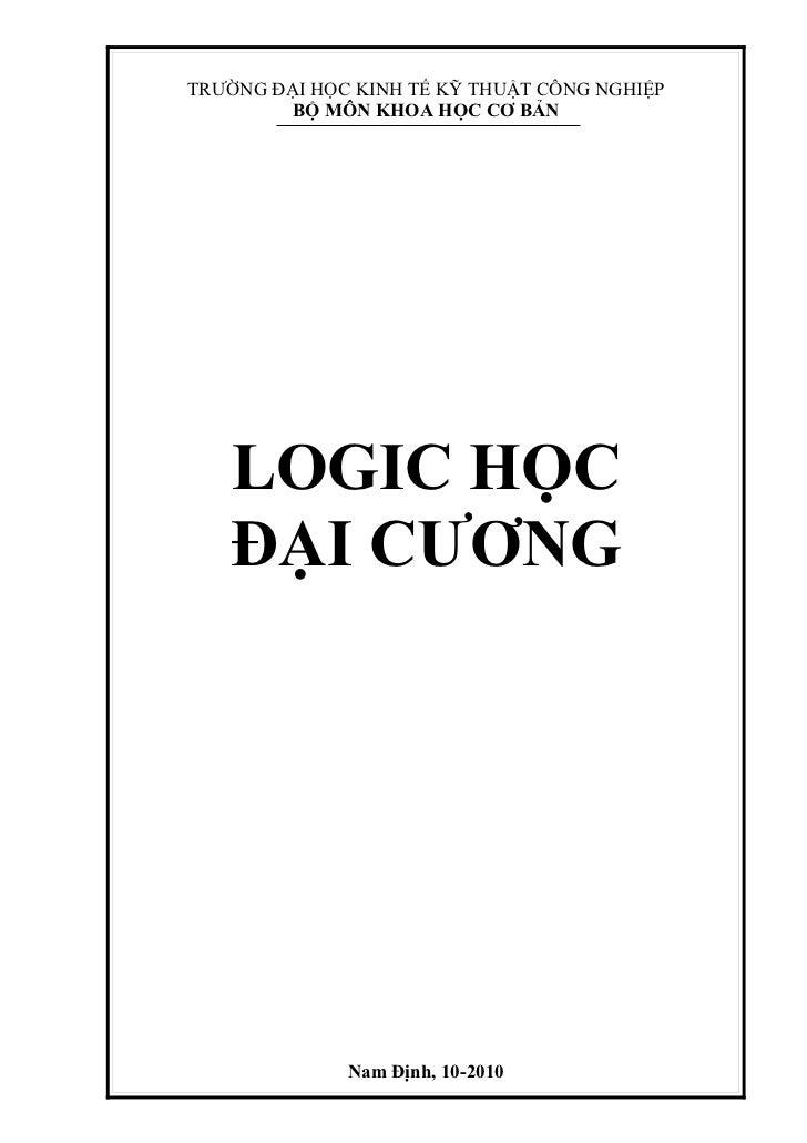Giao trinh logic dc(trần văn toàn)