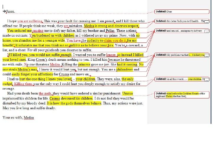 Powtoon compare and contrast essay