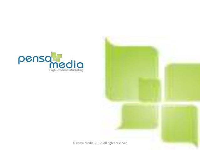 © Pensa Media. 2012. All rights reserved
