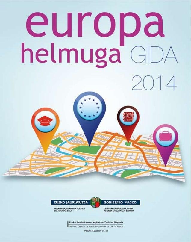 Europa helmuga Gida 2014