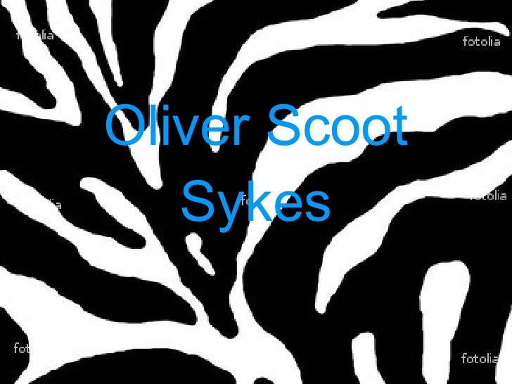 Oliver Scoot Sykes