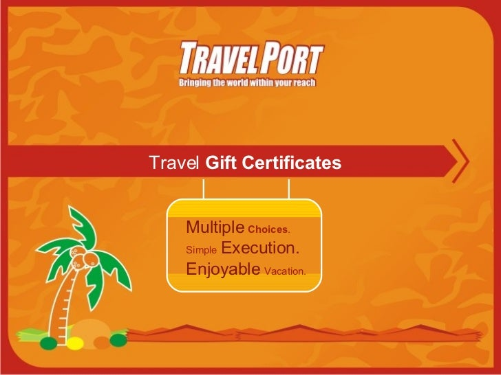 Gift Certificates Main