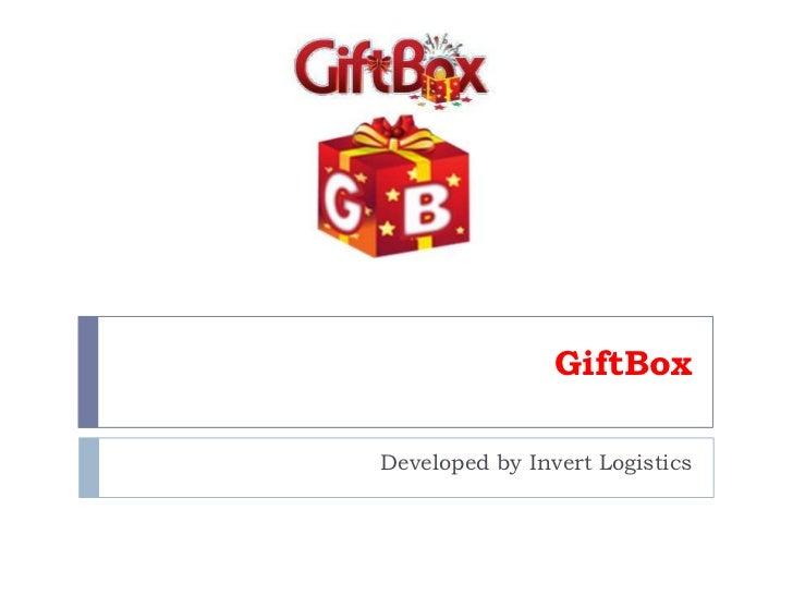 Gift box   ppt