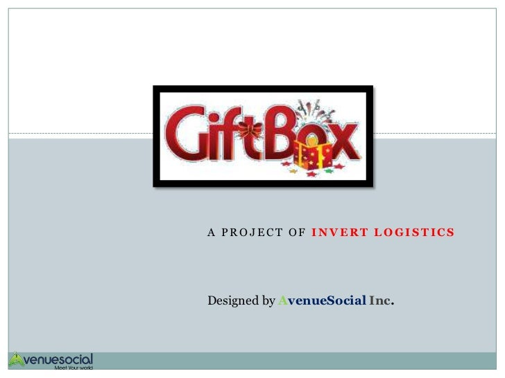 A PROJECT OF INVERT LOGISTICSDesigned by AvenueSocial Inc.