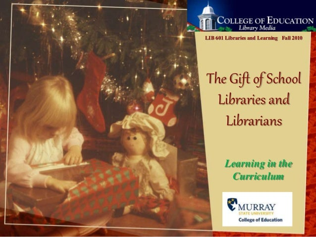 Gift of libraries 2007 version