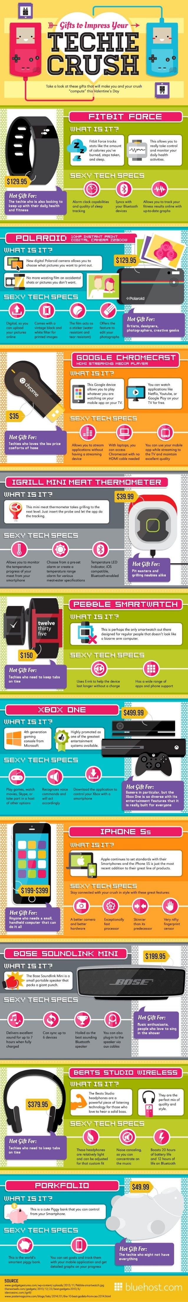 Gifts to-impress-your-techie-crush-infographic
