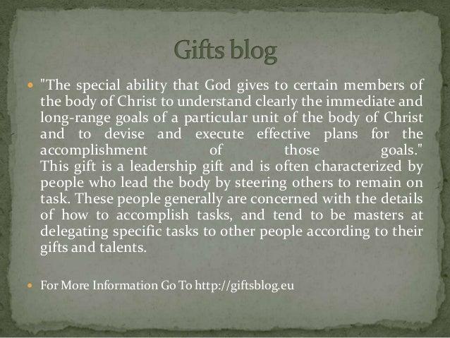 Giftsblog