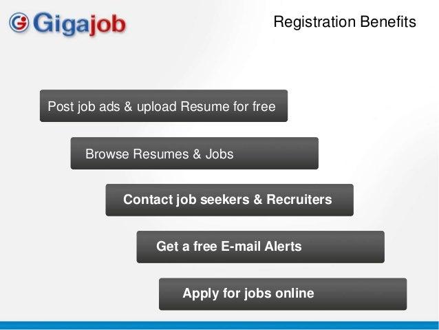 Resume posting site