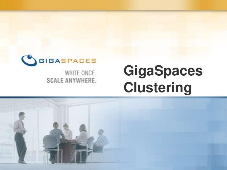 GigaSpaces HA