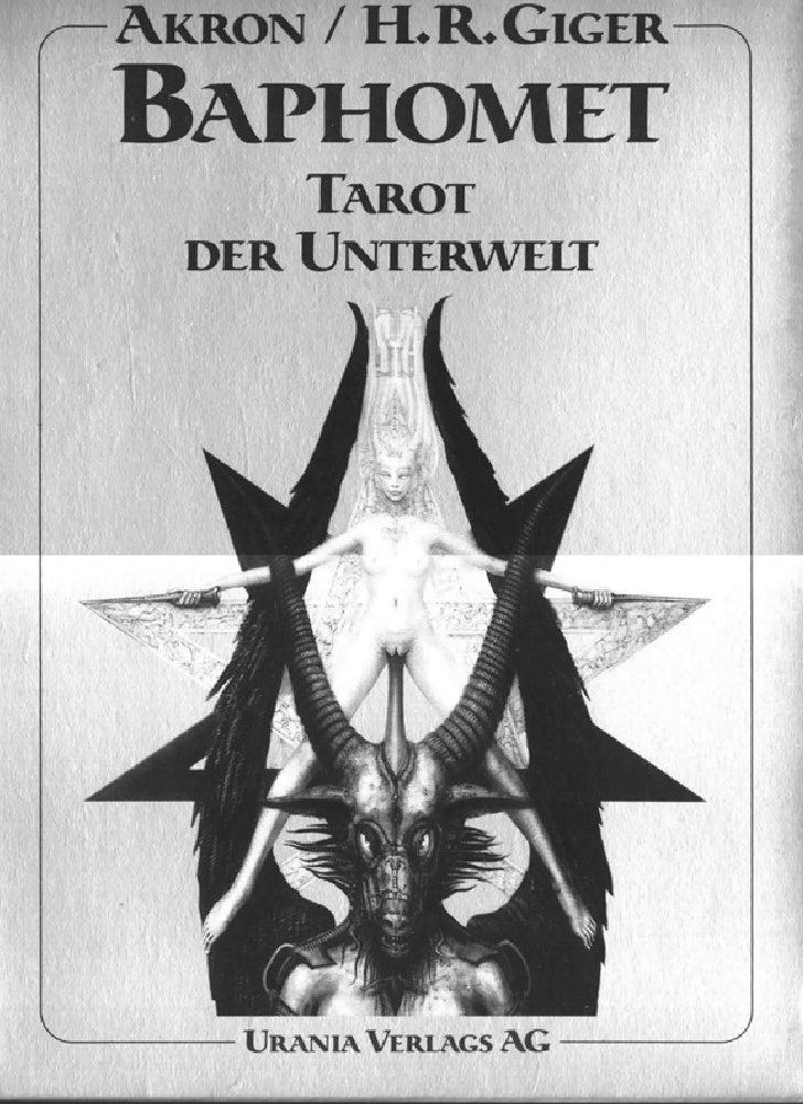 Giger, H.R.Baphomet Tarot Der Unterwelt