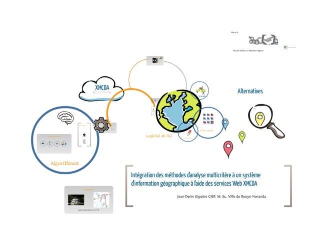Intégration des méthodes d'analyse multicritère à un système d'information géographique à l'aide des services Web XMCDA