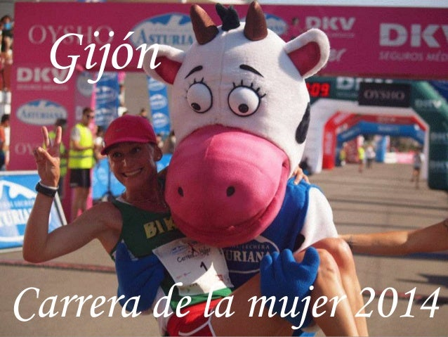 Gijón Carrera de la mujer 2014