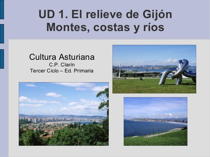 El relieve de Gijón