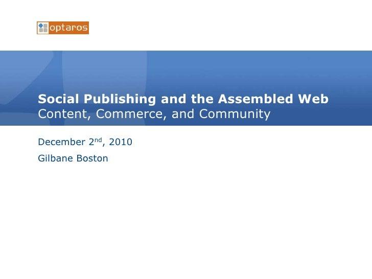 Gilabane social publishing