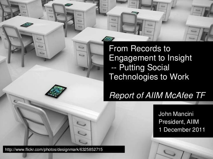 From Records to                                                     Engagement to Insight                                 ...