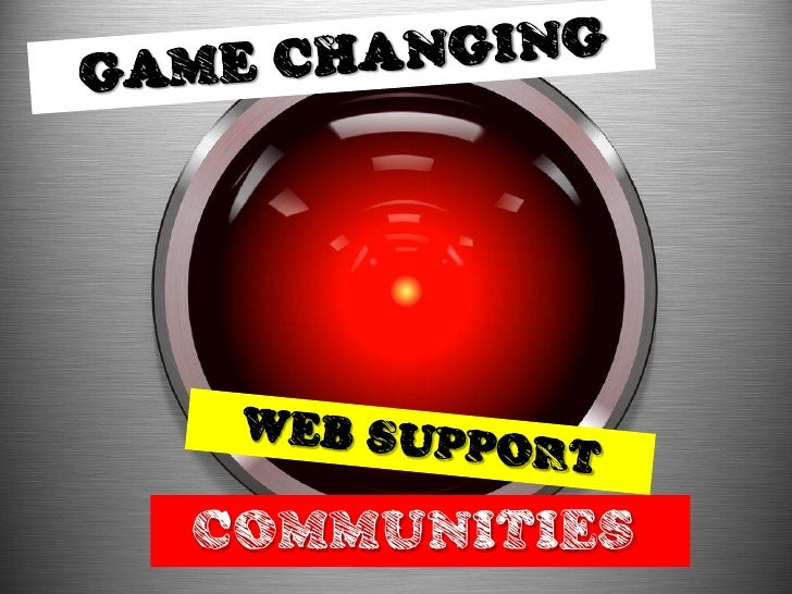 Game Changing Customer Support Communities