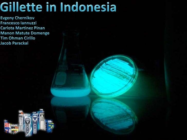 Gillette in indonesia