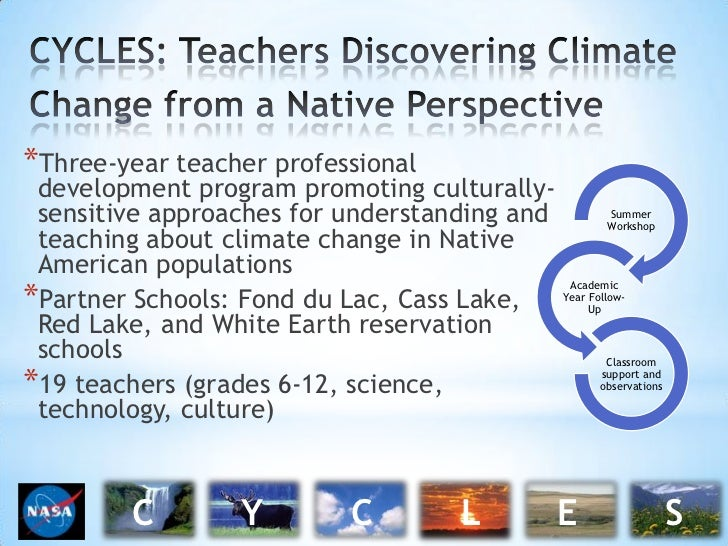 CYCLES: Teachers Discovering Climate Change from a Native Perspective