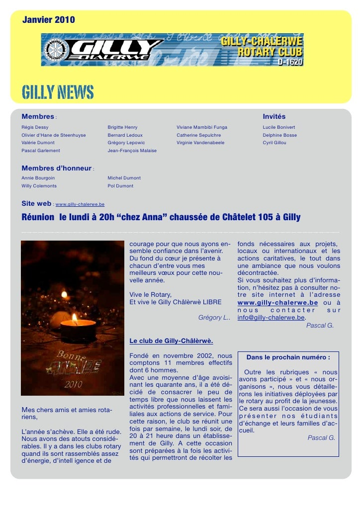 Gilly News 2010-01