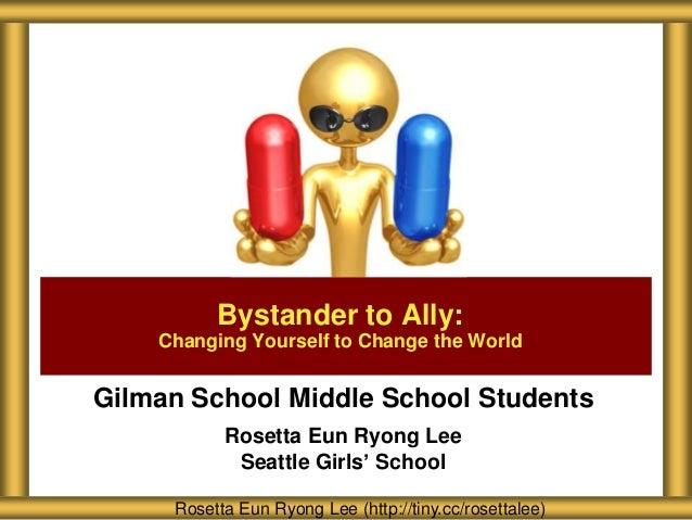 Gilman School Bystander to Ally