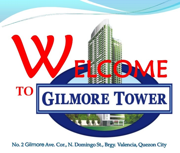 Gilmore Tower, Near Greenhills San Juan and few meters away from Gilmore LRT Station