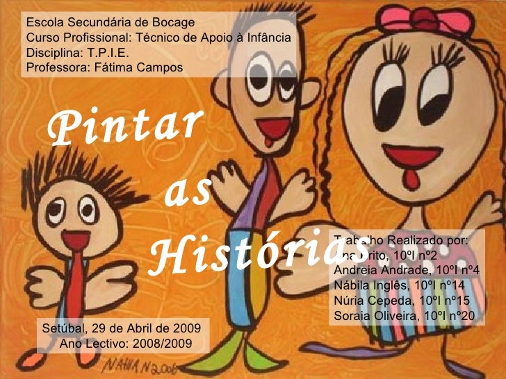 Pintar as Histórias