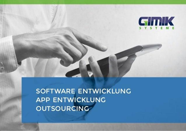 1 software entwicklung app entwicklung outsourcing