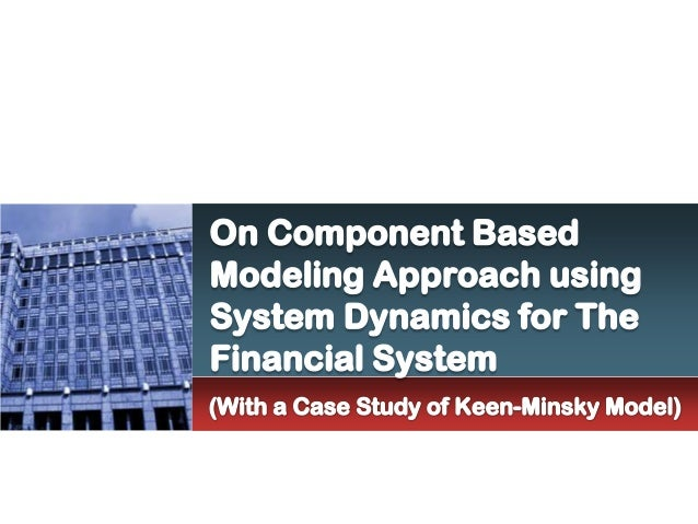On component based modeling for the financial system