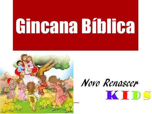 Gincana Bíblica