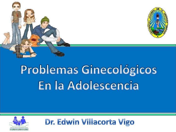 Ginecologia - NIÑOS