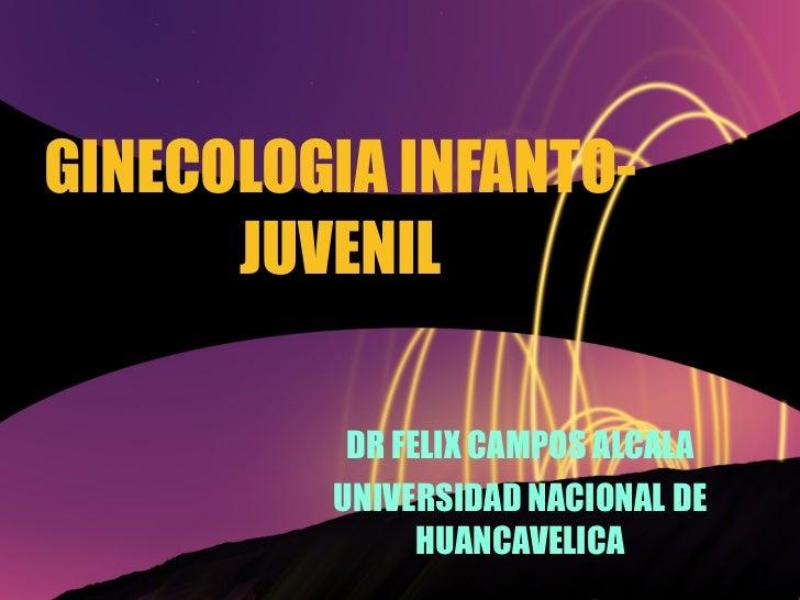 Ginecologia Infantil