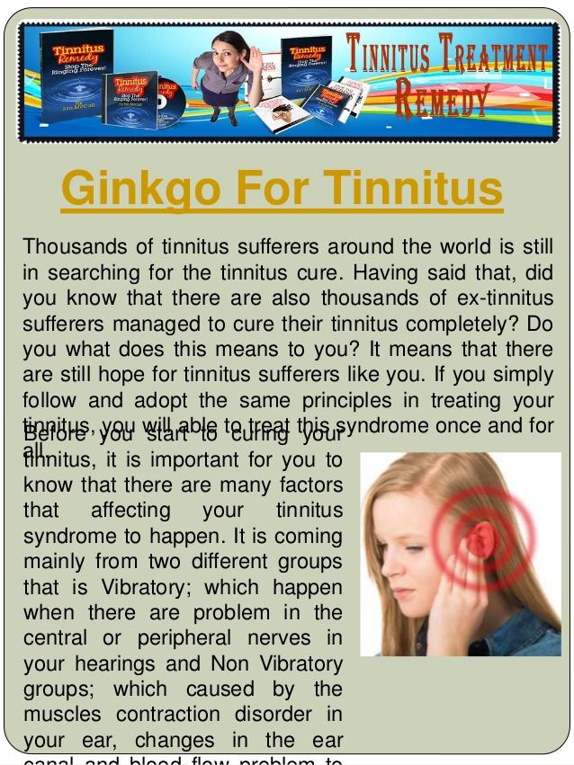 Ultrasonic treatment for tinnitus 2