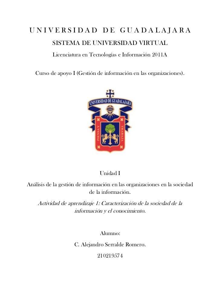 Caracterización de la sociedad de la información y el conocimiento.