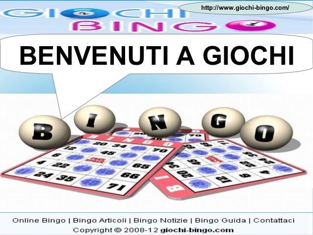 Giochi bingo