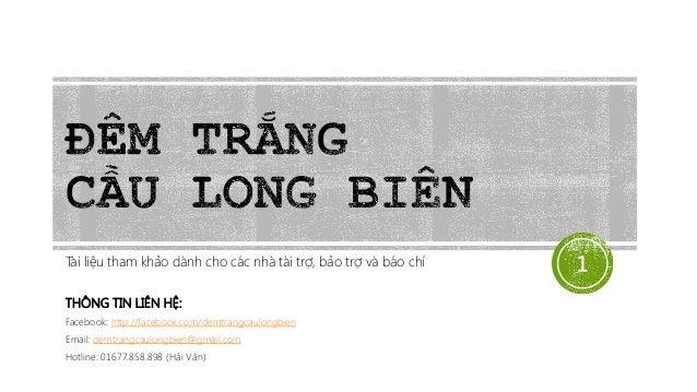 Giới thiệu chương trình Đêm trắng cầu Long Biên - Tháng 4/2014