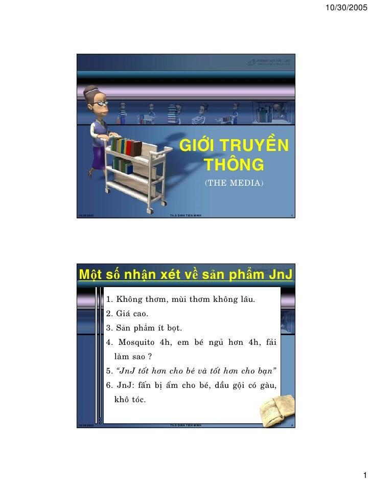 10/30/2005                                    GIÔÙI TRUYEÀN                                       THOÂNG                  ...