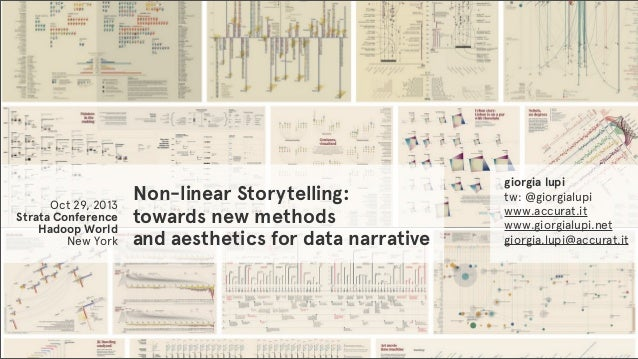 Non-linear Storytelling: Towards New Methods and Aesthetics for Data Narrative