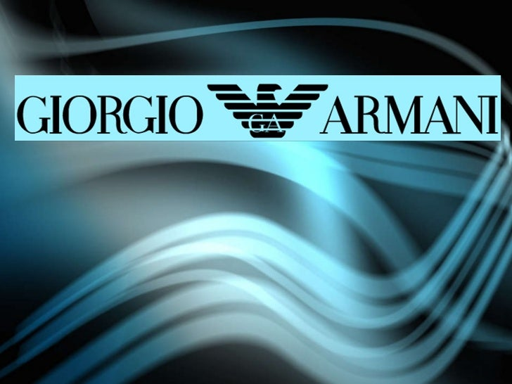 an analysis of 'giorgio armani' Giorgio armani essay - giorgio armani giorgio armani psycho-analysis observed the regularity with which libido is withdrawn from the object and.