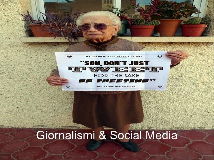 Giornalismi & Social Media