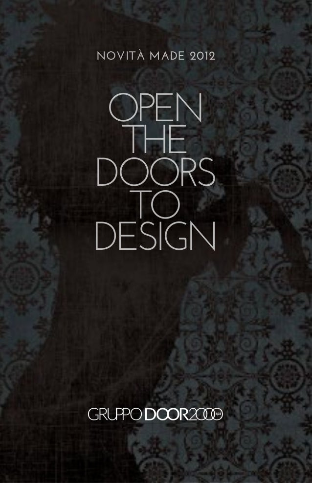 Open the doors to design