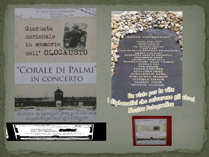 Giornata Della Memoria 2010 Italia Israele Rc Un visto per la vita