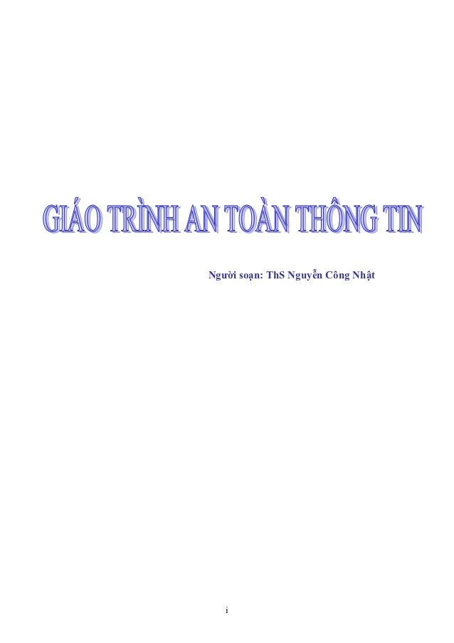 Người soạn: ThS Nguyễn Công Nhật   i