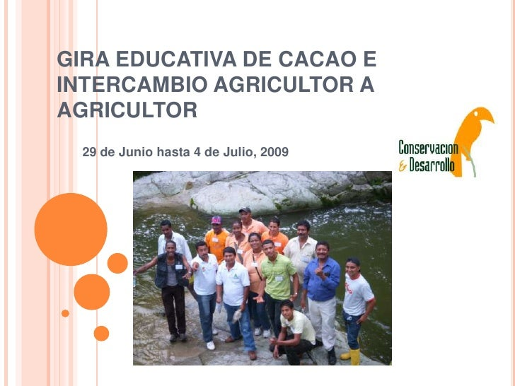 Gira educativa APROCA