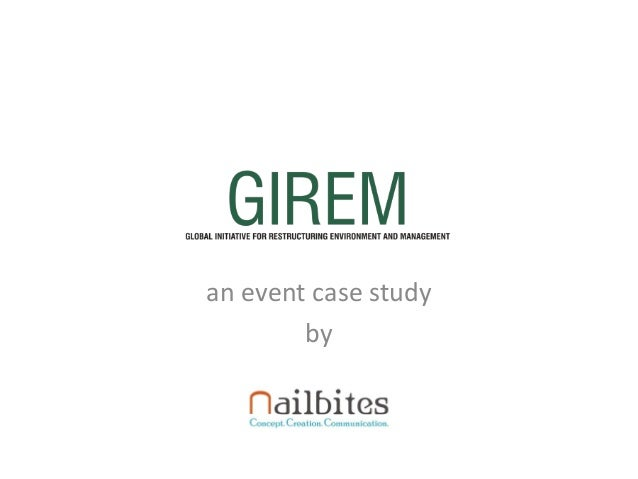 an event case study by