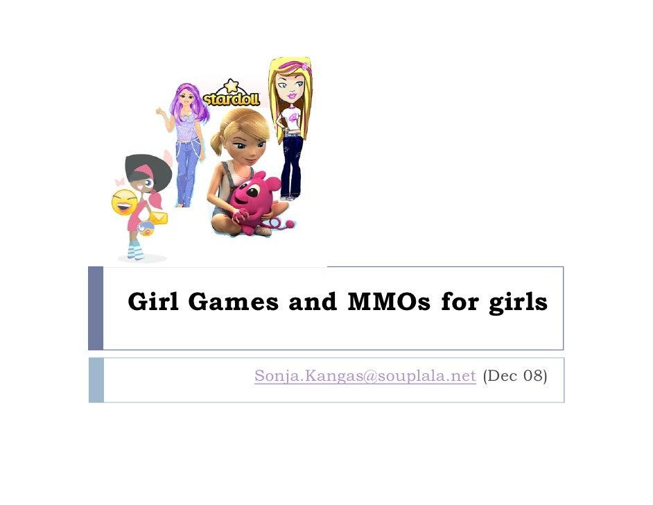 Girlgames and girl MMOs