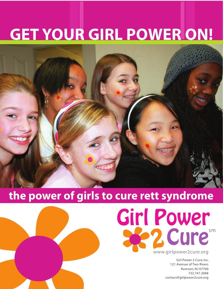 GET YOUR GIRL POWER ON!     the power of girls to cure rett syndrome                       Girl Power                     ...