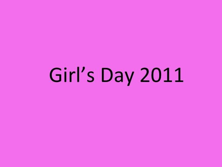 Girl's Day 2011